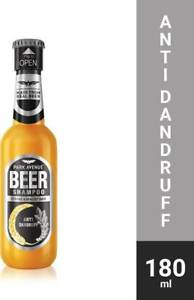 Park Avenue Beer shampoo Anti Dandruff (180 ml)