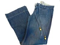 Lucky Brand Size 8/29 Womens Jeans Mid Rise Easy Fit Cotton Flare Leg