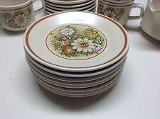 Temper Ware By Lenox Magic Garden Set Of 8 Bread Plates