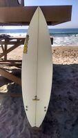 "Warner Surfboards WB003-US010: 6'0"" Short Board Hand Shaped In Australia"