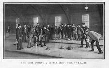 BONSPIEL NORTHWESTERN CURLING ASSOCIATION ST. PAUL MINNESOTA 1899 OPEN AIR RINK