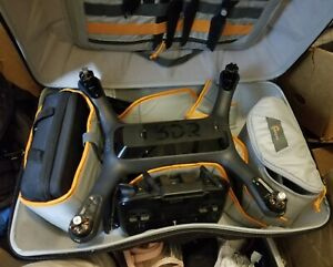 3DR Solo Smart Drone w Gimbal GoPRO Hero 4 BLACK 4K Camera & Carrying Backpack