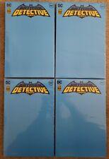 Batman DETECTIVE COMICS #1027 BLANK VARIANT SKETCH COVER Lot of 4