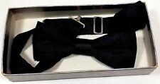 Men'S Silk Bow-Tie Color: Black From Zeller Tuxedos