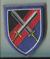 Bundeswehr:Verbandsabzeichen: Logistikbrigade 100 - handgestickt
