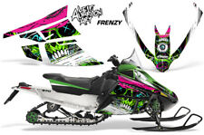 Arctic Cat F Series Sled Wrap Snowmobile Graphics Kit Stickers Decals FRENZY GRN