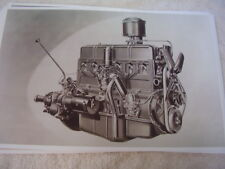 1939 CHEVROLET  6 CYL. ENGINE  11 X 17  PHOTO   PICTURE