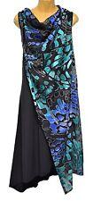 TS top TAKING SHAPE plus sz XL / 24 Walk Me Home Dress sheer overlay NWT rrp$140
