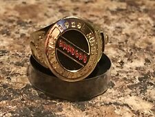 MOLSON CANADIAN NEW YORK RANGERS 1928 STANLEY CUP RING 2016 NEW PROMO
