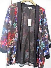 BNWT Ladies Papaya Floral 3/4 Sleeve Lined Jacket/Shrug Size 10 uk