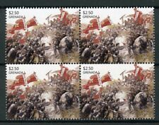 Grenada 2015 MNH Chinese Soldiers of China Painting 4v Block Art Military Stamps
