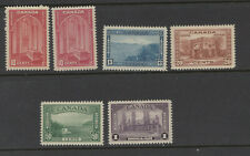 CANADA  241-245 +241a VFNH Pictorial Issue
