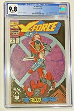 X-Force #2 CGC 9.8 NM/MT White  1st Appearance of Weapon X  Deadpool's Back !