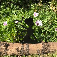 Kneeling Fairy Fence Topper Fairys Garden Ornament Post Top