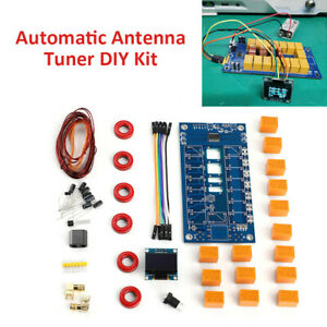 Full Kit DIY 100W 1.8-50MHz ATU-100mini Automatic Antenna Tuner By N7DDC OLED