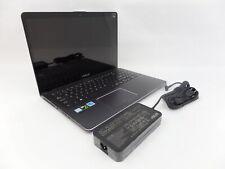 "ASUS Q535UA-BI7T11 15.6"" 4K UHD Touch i7-8550U 1.8GHz 16GB 2TB+256GB GTX1050 W10"