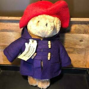 "Paddington Bear 20"" Darkest Peru to London England Eden Toys Plush Doll 1975"