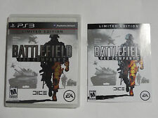 NO GAME- PS3 BATTLEFIELD BAD COMPANY 2 -GAME CASE & MANUAL ONLY -NO GAME EX