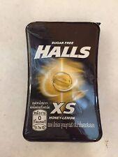Halls XS Peppermint Sugar Free (Honey Lemon)