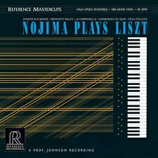 NOJIMA PLAYS LISZT REFERENCE RECORDINGS RM-2516 2LP 45rpm 180g