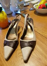 Life Stride Ladies Pumps Size 8.5 Beige/Brown New (other)