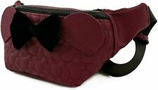 Loungefly Disney Minnie Mouse Faux Leather Fanny Pack Standard