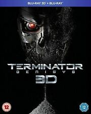 TERMINATOR GENISYS 3D - BLU RAY - NEW / SEALED UK STOCK