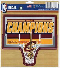 "2016 NBA championship decal Cleveland Cavaliers 5""x5"" sticker Cavs Lebron James"