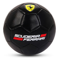Ferrari Size 5 Machine Sewn Soccer Ball - Black