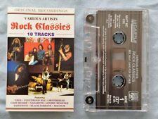 ROCK CLASSICS 18 Track 1994 CASSETTE EU Castle Communications MAT MC 236 NM/NM