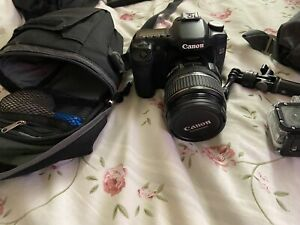 Camera set for sale canon EOS 40, Gopro3 , Amkov used but in great condition