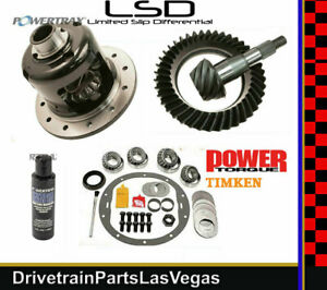 Powertrax Posi Pkg GM Chevy 8.6 4.10 Ring Pinion Gear Set Timken Master 99 to 08