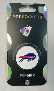 PopSockets PopGrip with Swappable Top for Phones & Tablets  NFL Buffalo Bills
