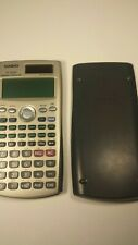Casio FC-200V Financial Calculator With Hard Case--Used, Works [Free Shipping]