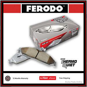FERODO TQ BRAKE PADS REAR For MITSUBISHI VERADA KS 1995-1996 3.0L V6 DB1239FTQ