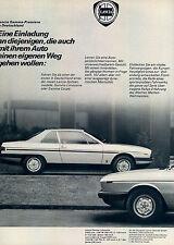 LANCIA-GAMMA-COUPE - 1978-pubblicità con loghi pubblicità-automobile print ad-Automóvil publicidad