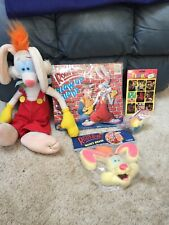 "Roger Rabbit *Blow Up Buddy*Foam Head*Stickers*17"" Plush*Happy Meal* Vintage"