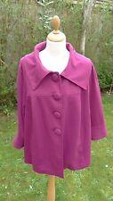 Lane Bryant magenta 3/4 sleeved jacket size 24