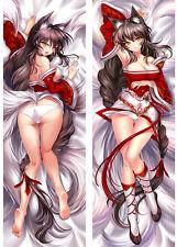 "59"" LOL Game League of Legends Ahri Dakimakura Hugging Body Otaku Pillow Case"