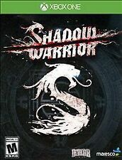 XBOX ONE GAME SHADOW WARRIOR BRAND NEW & FACTORY SEALED