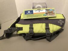 New Top Paw Orange Dog Life Jacket Safety Vest MEDIUM 30-55 lbs