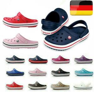UnisexHerren Crocband Croc 11016 Clogs Loch Hausschuhe Sandale Schuhe Badeschuhe
