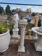 'windsor' urn with '4 seasons' pedestal planter pot garden decor