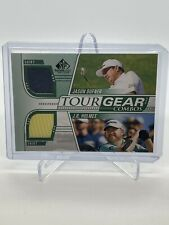 New listing 2021 SP Game Used Golf Tour Gear Dual #TG2DH Jason Dufner J.B. Holmes