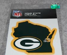 GREEN BAY PACKERS NFL FOOTBALL SPORTS HOME STATE SMALL DECAL