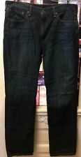 Levi's 514 Mens Jeans Size 38x34 Straight Fit Faded Dark Wash