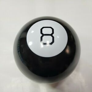 """Vintage Magic 8 Ball Toy Game Fortune Teller Mattel 4"""" Ball 30188 Made in China"""