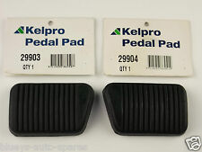 FORD FALCON MANUAL BRAKE & CLUTCH PEDAL PAD KIT SUITS ALL BA,BF,FG INCLUDING UTE