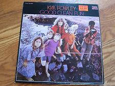 KIM FOWLEY Good Clean Fun with West Coast Pop Art Experimental Band