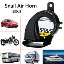 Universal 12V 130dB Loud Motorcycle Car Auto Snail Air Horn Siren Waterproof USA